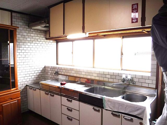 キッチンリフォーム Before